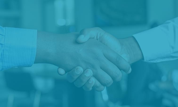 net2phone canada channel partner program, two people shaking hands
