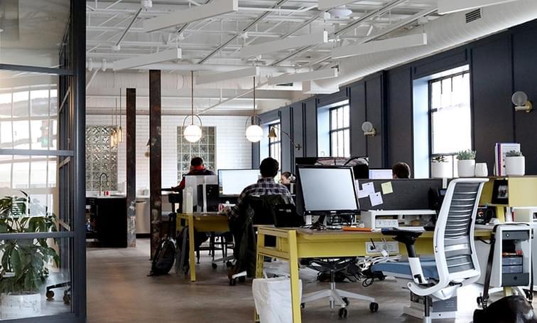 Dunk Associates Open Concept Office - net2phone Canada - Business VoIP Phone System