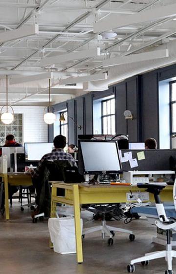 Dunk Associates Legal Firm Office Open Concept - net2phone Canada - Business VoIP Phone System