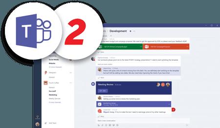 Screenshot of Microsoft Teams net2phone Canada integration