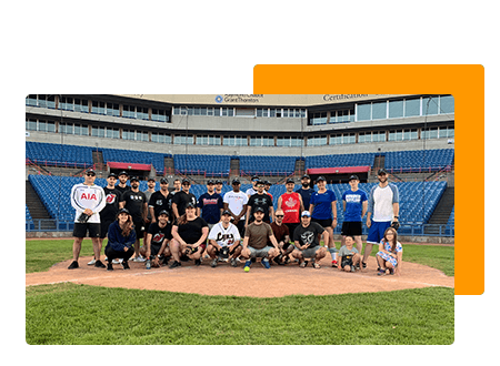Growing Team - Baseball team stadium - net2phone Canada - Business VoIP Phone System