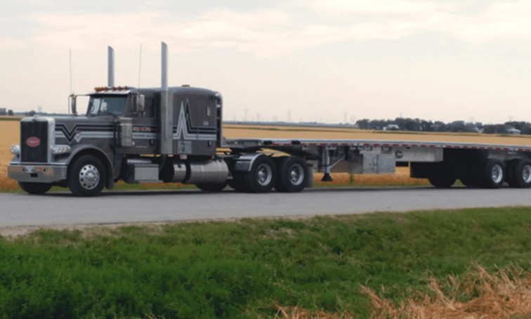 Large transport truck - new hope transport - net2phone Canada - Business VoIP Phone System