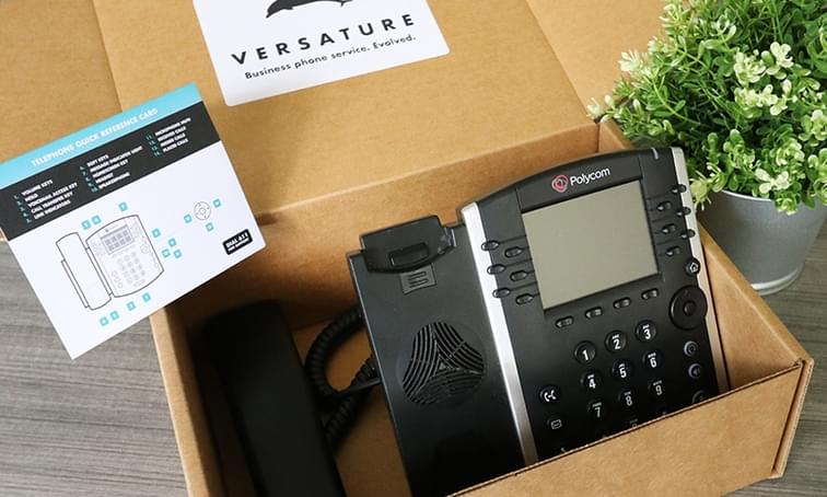 provisioned poly phone
