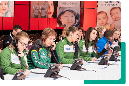 Associations telethon women on phones- net2phone Canada - Business VoIP Phone System