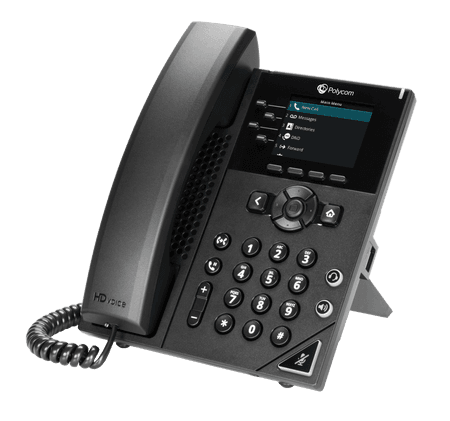 VVX 250 Poly Phone - net2phone Canada - Business VoIP Phone System