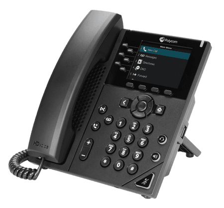 VVX 350 - Poly Phone - net2phone Canada - Business VoIP Phone System