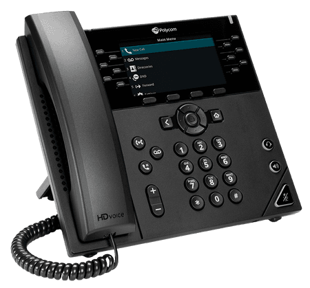 VVX 450 Poly Phone - net2phone Canada - Business VoIP Phone System