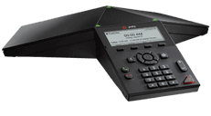 photo of a polycom trio 8300 conference phone