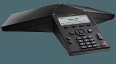 photo of a polycom trio 8300 conference phone