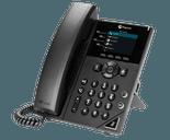 photo of a polycom vvx 250 desk phone