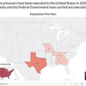 DPIC Analysis: Federal Execution Spree Out of Step with U.S. Death Penalty Trends and Attitudes