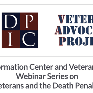 Webinar Series Highlights Issues Faced by Veterans Facing the Death Penalty