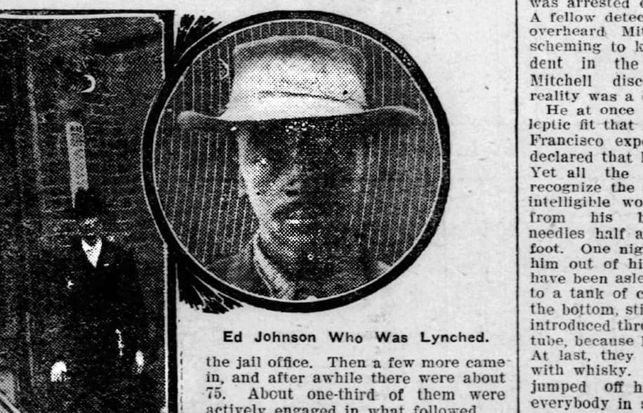 Chattanooga Dedicates Memorial to Ed Johnson, An Innocent Man Sentenced to Death on False Rape Charges and Lynched After U.S. Supreme Court Stayed His Execution