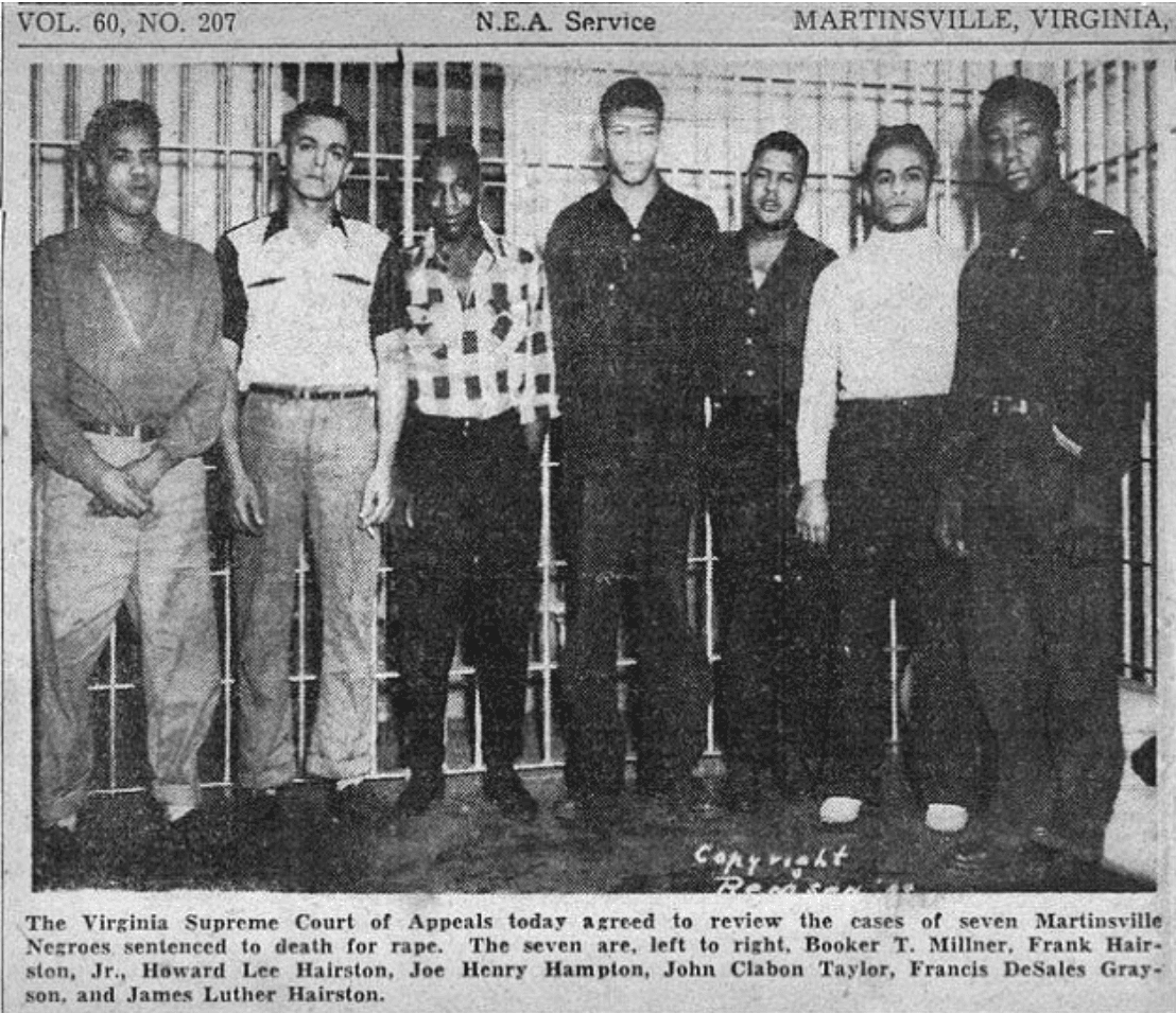 'Martinsville 7' Granted Posthumous Pardons 70 Years After Their Executions