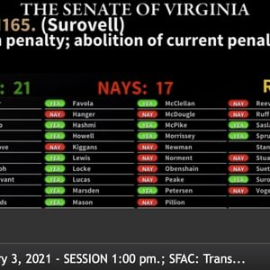 Virginia Legislature Votes to Abolish the Death Penalty