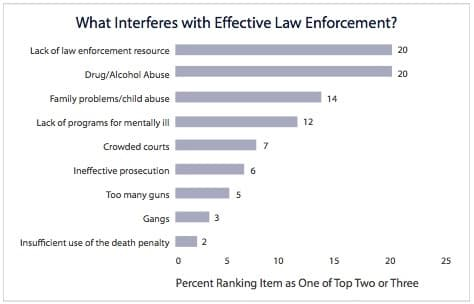 Law Enforcement Views on Deterrence