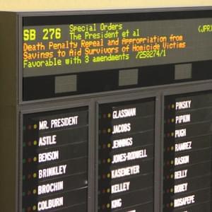 RECENT LEGISLATION: Maryland Death Penalty Will Not Face Referendum