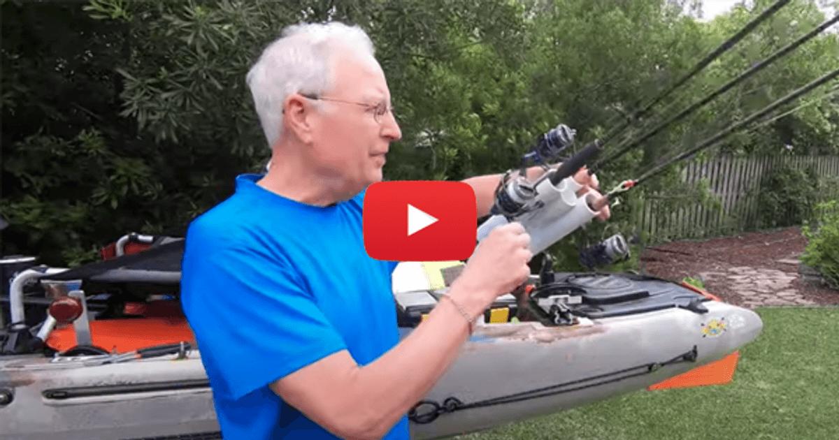 Diy Kayak Fishing Rod Holder Paddling Com
