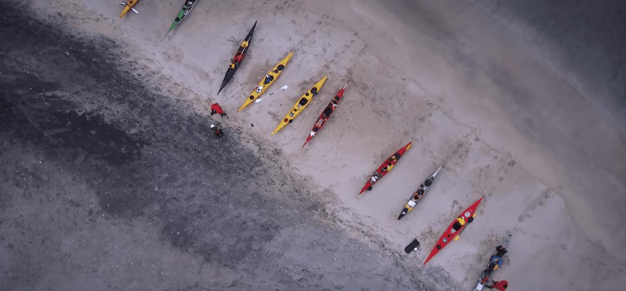 Kayak Length Matters for Paddling Straight