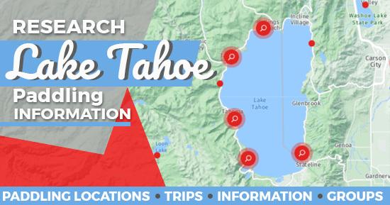 Kayaking in Lake Tahoe