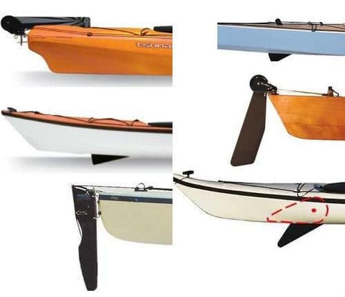 Kayak Rudder or Kayak Skeg?