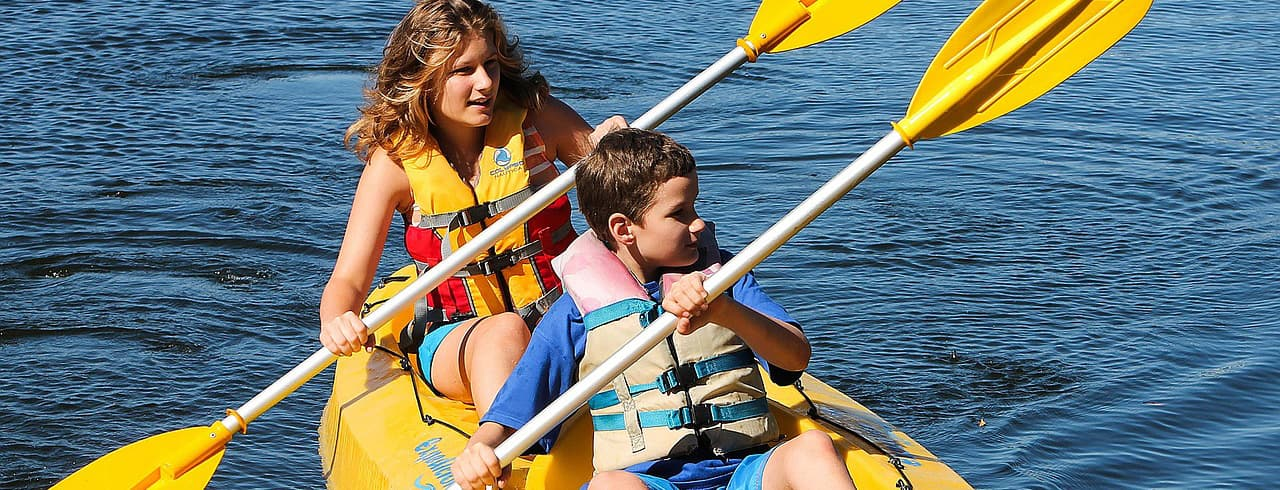 Infants & Children - Kayaking with the Family