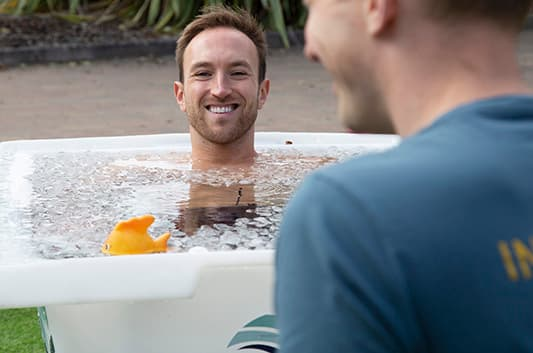 Wim Hof Method Ice Bath