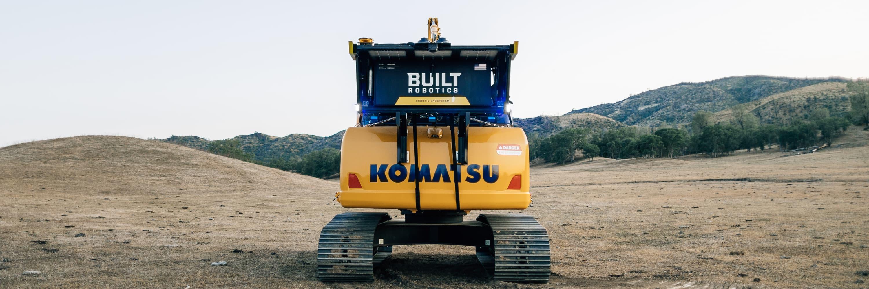 Excavator exosystem komatsu short