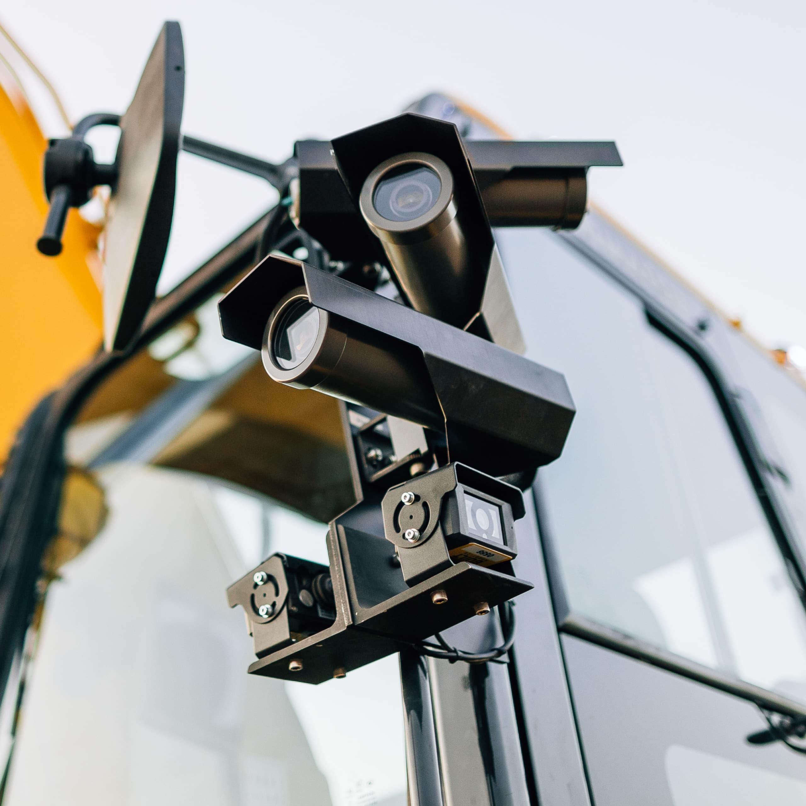 Exosystem obstacle cameras