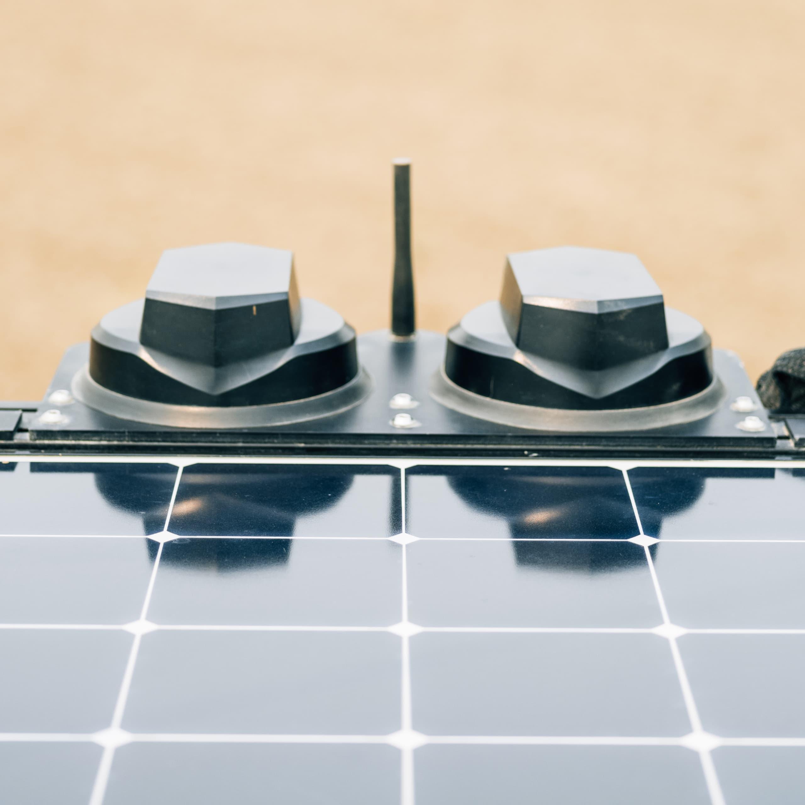 Exosystem solar top panel