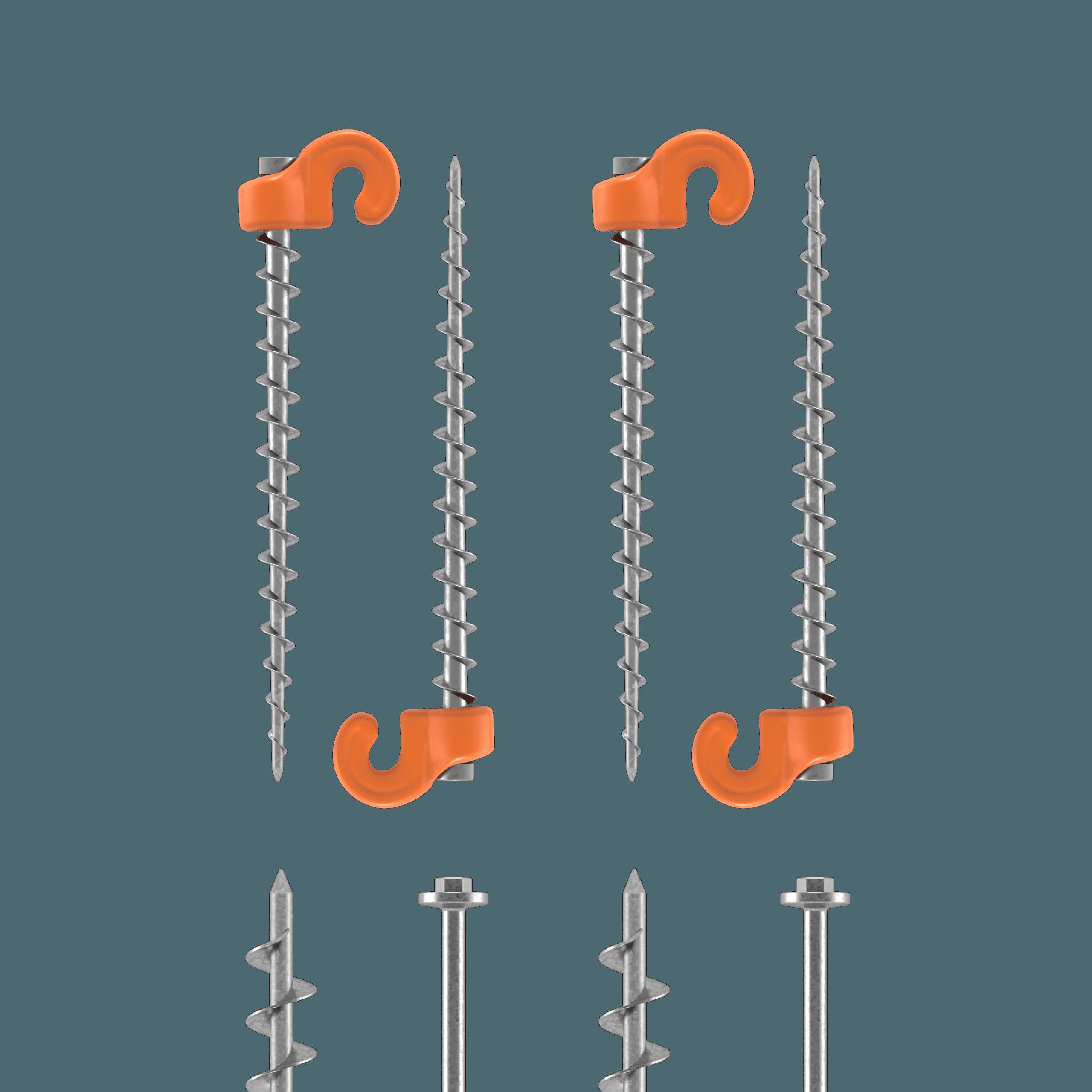 Field kit screws