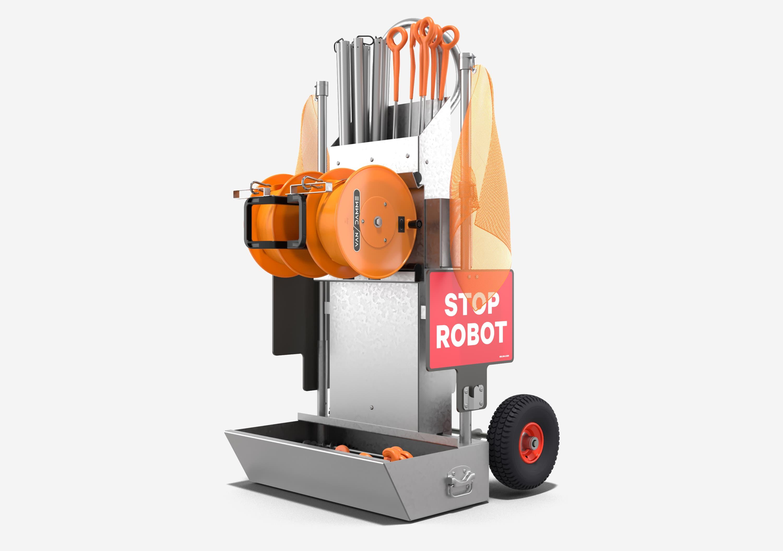 Safety cart field kit built robotics