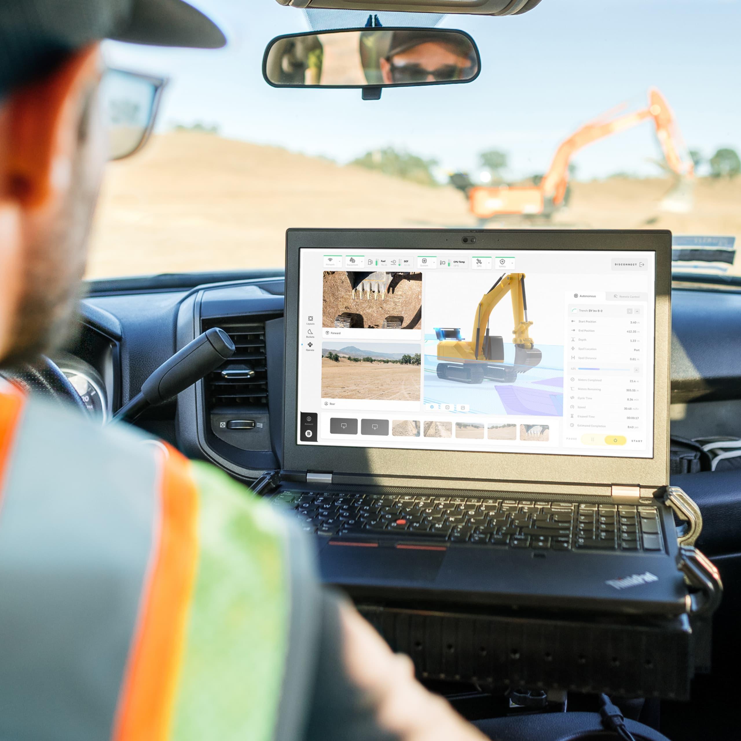 Truck reo monitoring