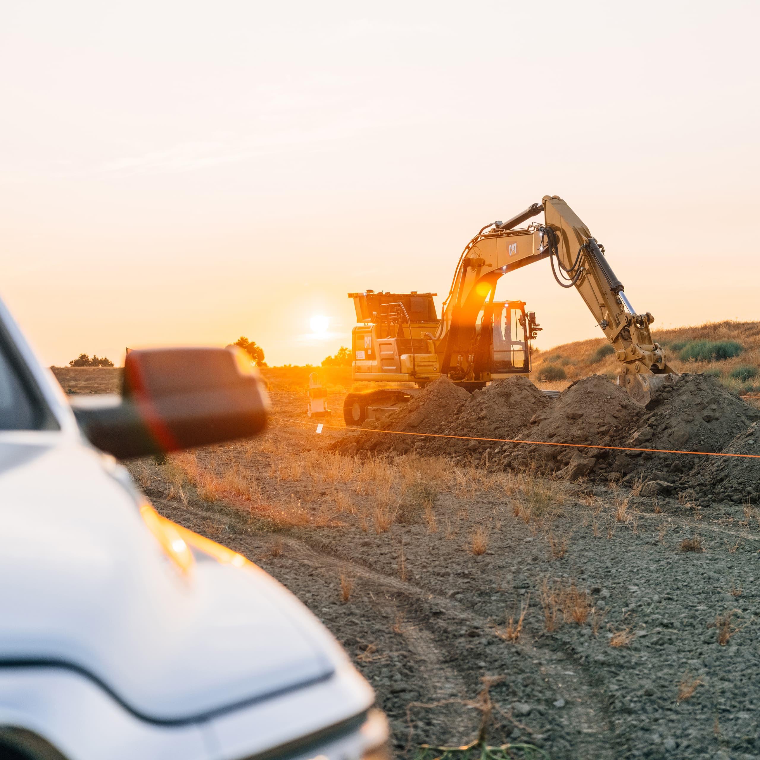 Utilization excavator