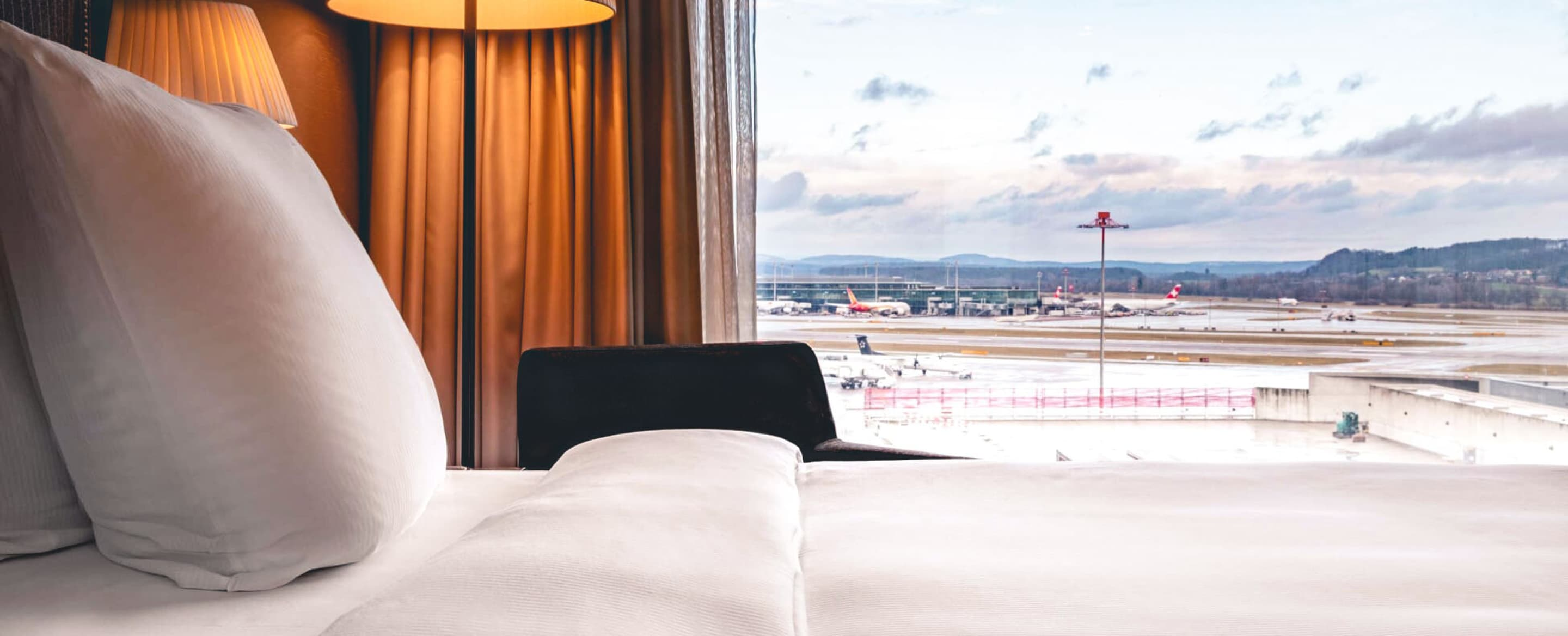 Modern upselling at airport hotels