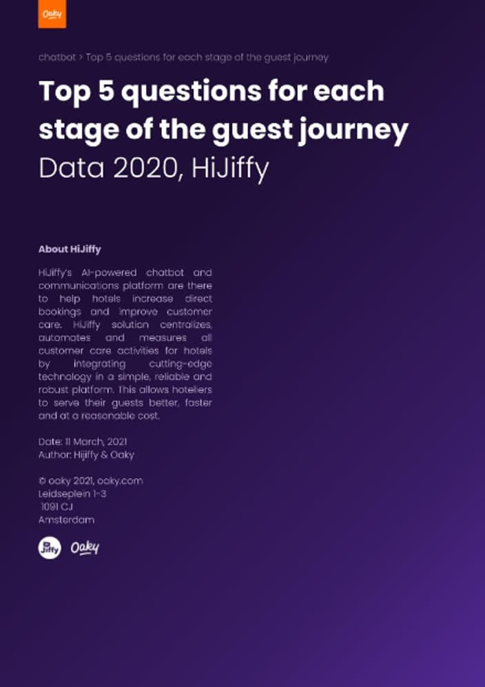 Top 5 questions for each stage of the guest journey by Hi Jiffy preview 3 2x
