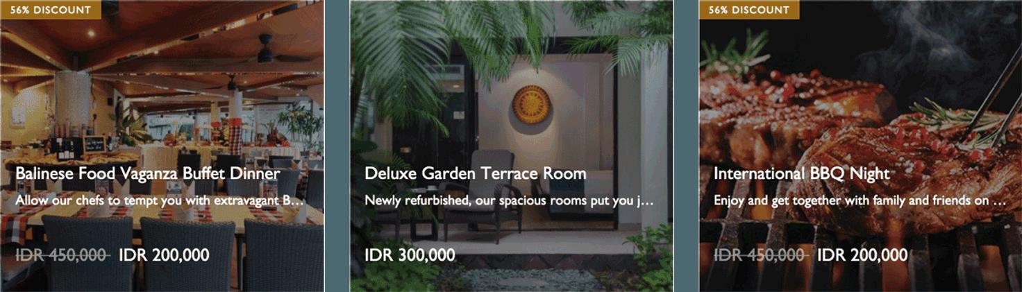 Deals cross hotels resorts