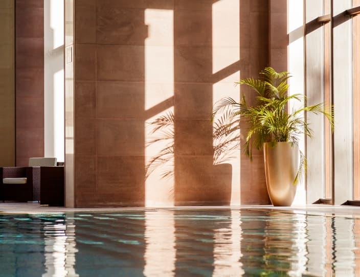 Swimming pool with sofa PMQYAFV