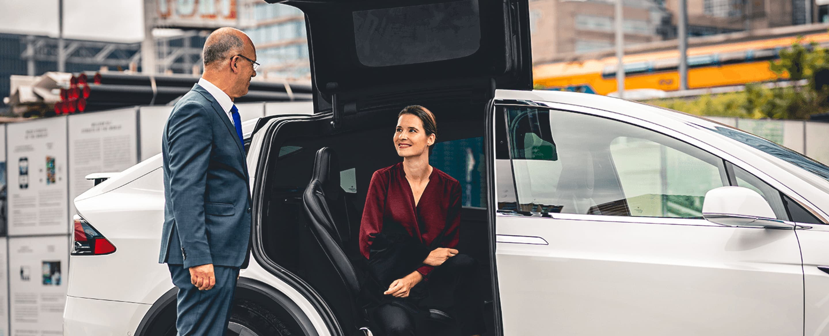A new airport pick-up experience for hotel guests