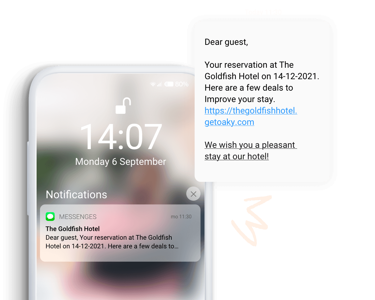 Text message 2x