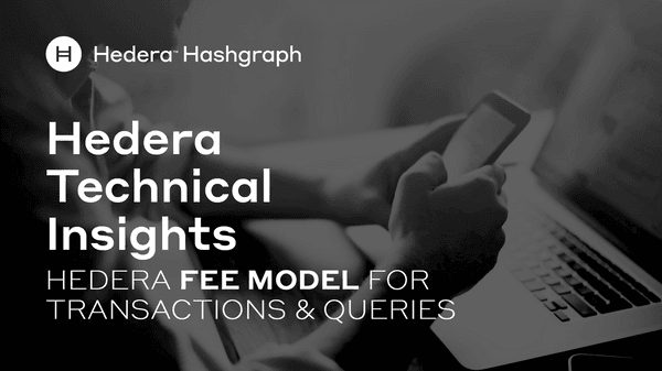 Hedera Fee Model For Transactions Queries
