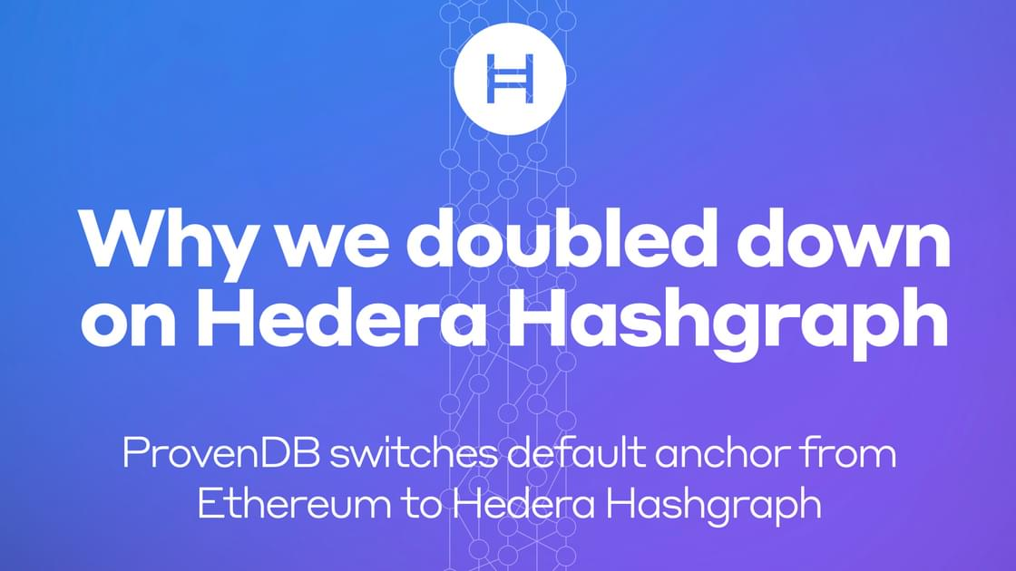 Why We Doubled Down on Hedera Hashgraph