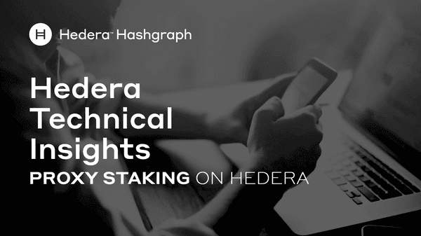 Proxy Staking On Hedera