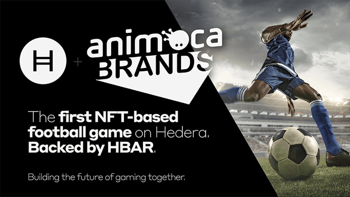 Animoca Brands and Hedera announce Helix Warp and NFT-based football game