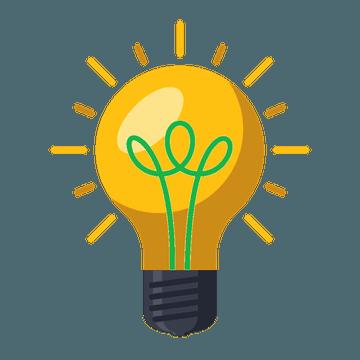 Quiply Mitarbeiter-App Glühbirne für Information