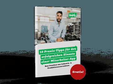Quiply 10 Praxis Tipps für den erfolgreichen Einsatz einer Mitarbeiter App Industrie
