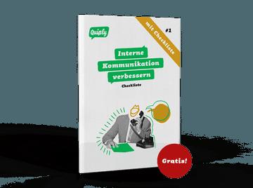 Quiply Checkliste interne Kommunikation