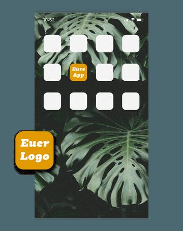 Quiply Mitarbeiter App Professional individuelles Logo