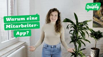 Quiply Thumbnail Video Warum eine Mitarbeiter-App