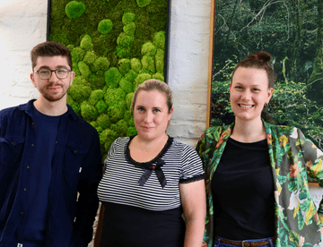 Quiply Mitarbeiter-App CSM Team Jahn Leidner, Nicole Langer, Julia von dem Bussche